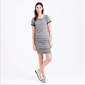 {J. Crew} Ruched Dress